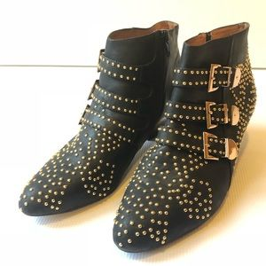 Studded Combust Boots by Jeffrey Campbell